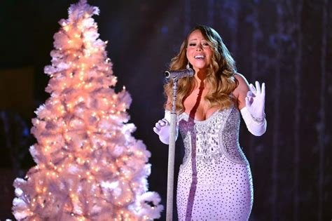 mariah carey a no show at nbc s tree lighting taping ny