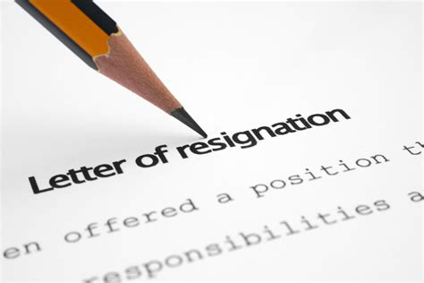 Resignation Letter Expressing Anger How To Write A Proper Resignation Letter