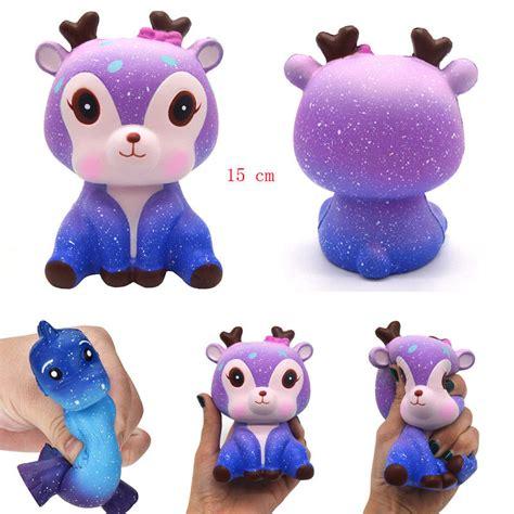 Squisy Squishy Jagung Risingu 15cm galaxy deer scented squishy rising squeeze gift ebay