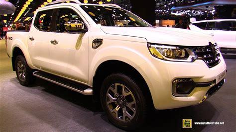 renault alaskan interior 2017 renault alaskan exterior and interior walkaround