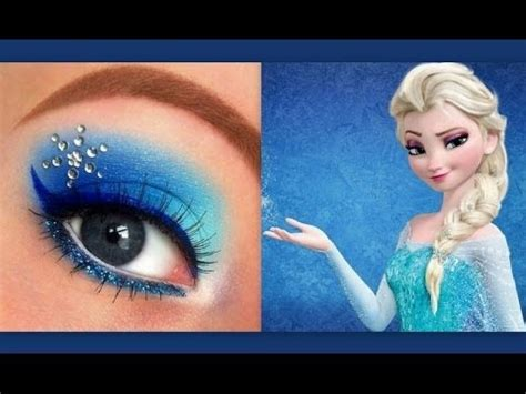queen elsa makeup tutorial disney s frozen elsa makeup tutorial youtube