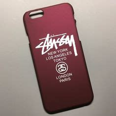 Iphone 6 6s Plus Stussy New York Los Angeles Tokyo Cover Casing luxury goyar brand pc for iphone 7 7
