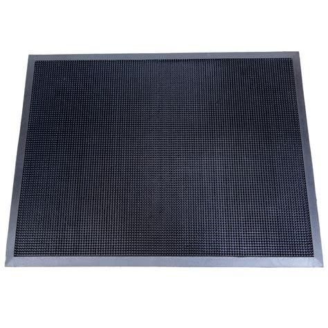 mats home trafficmaster black lattice 24 in x 36 in door mat