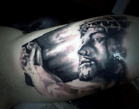religious themes definition 100 christian tattoos for men manly spiritual designs