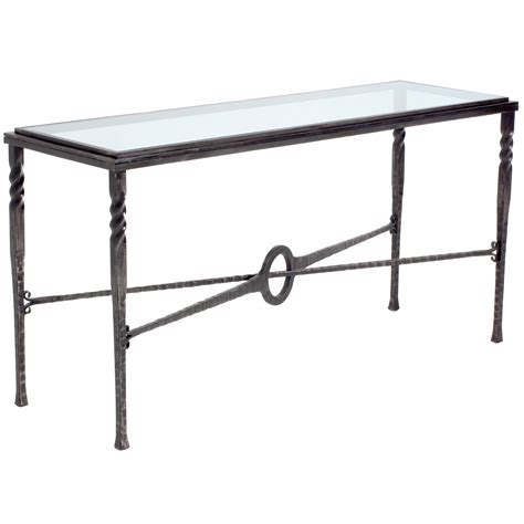 metal glass sofa table glass and metal console table furniture glassed top