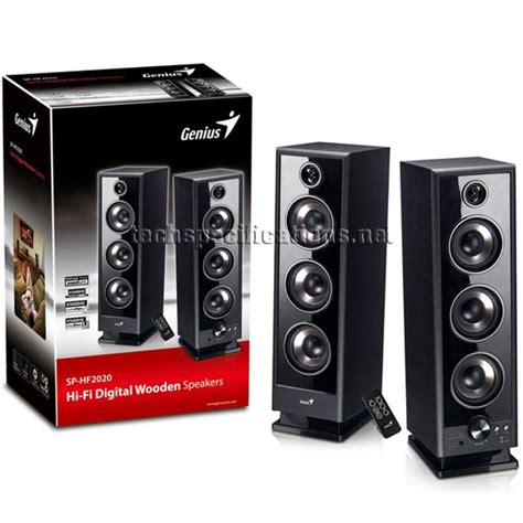 Speaker Komputer Genius genius sp hf 2020 v2 pc speakers tech specs