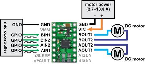 drv8825 sense resistor pololu drv8833 dual motor driver carrier