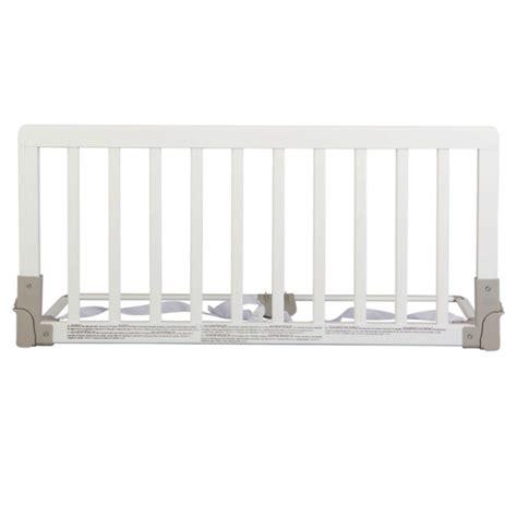 barrera de cama babydan madera blanca segurbaby