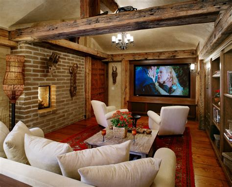 adobe interior design adobe renovation addition southwestern home theater other metro by maienza