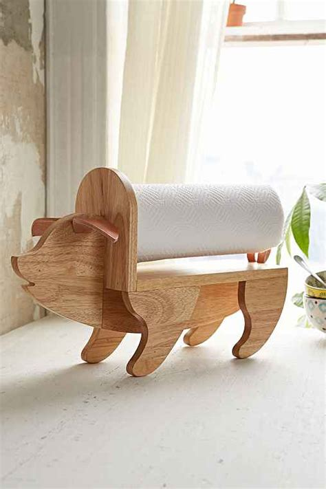 How To Make A Wooden Paper Towel Holder - assembly home pig paper towel holder outfitters