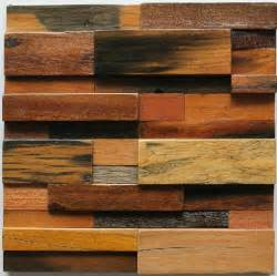 Kitchen Wall Panels Backsplash Natural Wood Mosaic Tile Rustic Wood Wall Tiles Nwmt005