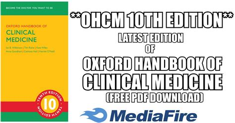Oxford Handbook Of Clinical Medicine 10th Edition Pdf Free