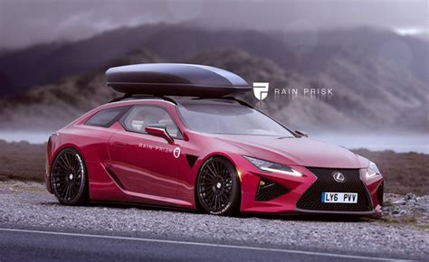 2016 lexus wagon lexus lc looks stunning as a wagon in renders 187 autoguide
