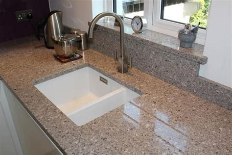 How To Cut Kitchen Countertop For Sink by Silestone Alpina White Undermount Sink Cut Out With