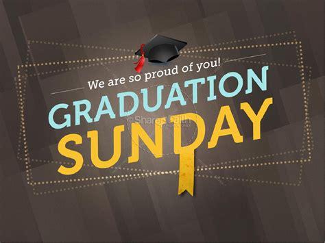 Graduation Sunday Graphics Templates Powerpoint Church Program Template Graphics
