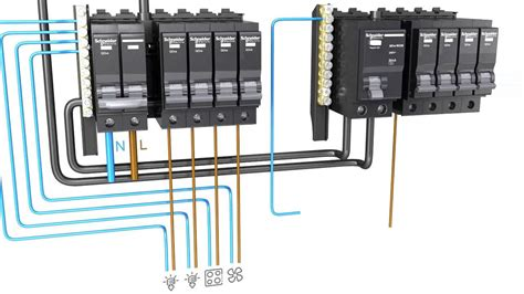 consumer unit wiring split wiring diagram with