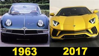 Evo Vs Lamborghini Lamborghini Evolution 1963 2017