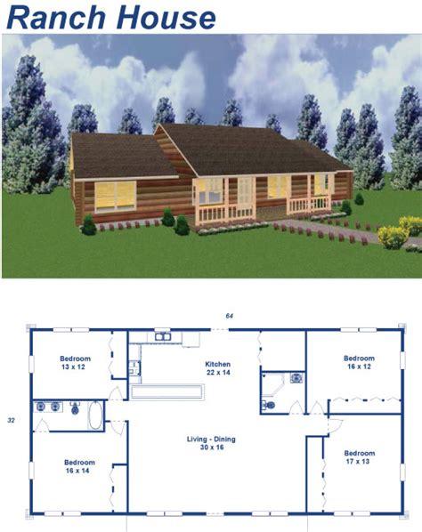 ranch house custom home floor plans archives american log cabins in binghamton ny pennsylvania montrose