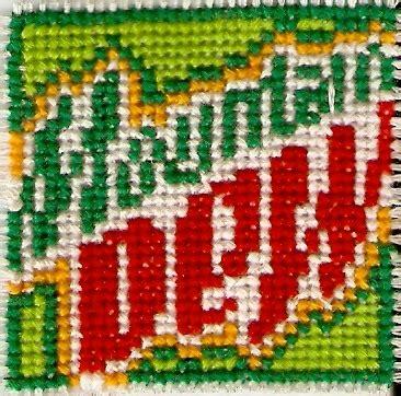 pattern energy montana mountain dew cross stitch by magentafreak on deviantart