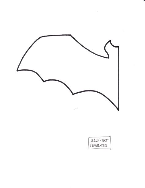 bat templates free bat bat template craft foam and white paper
