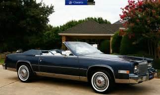 1984 Cadillac Eldorado Convertible Matt Garrett 1984 Cadillac Eldorado Biarritz Convertible