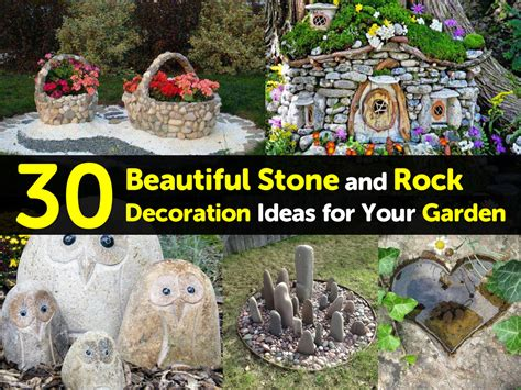 Decoration Rock by 30 Beautiful And Rock Decoration Ideas For Your Garden
