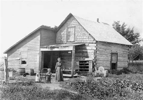 a pioneer home photographs with a story
