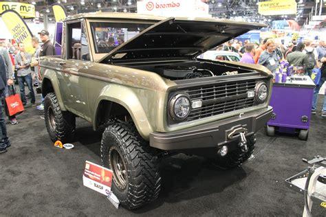 coolest ford bronco  sema ford truckscom