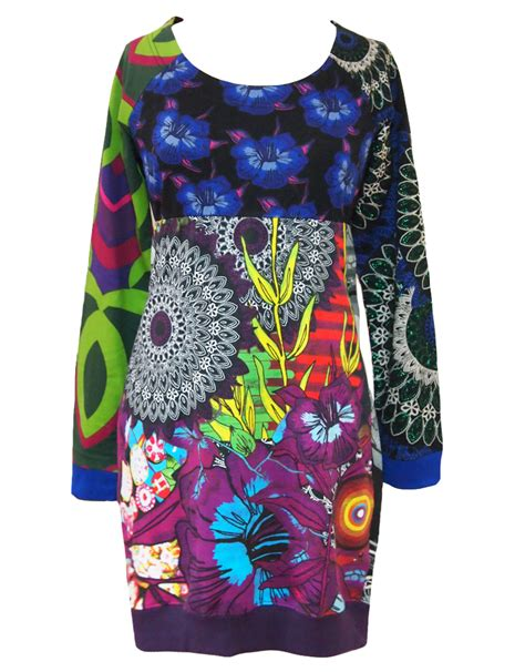 desigual stellar dress azafata blue born2style fashion store