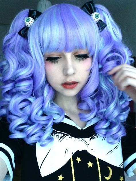 halloween gothic hairstyles 252 best gyaru style images on pinterest color lenses