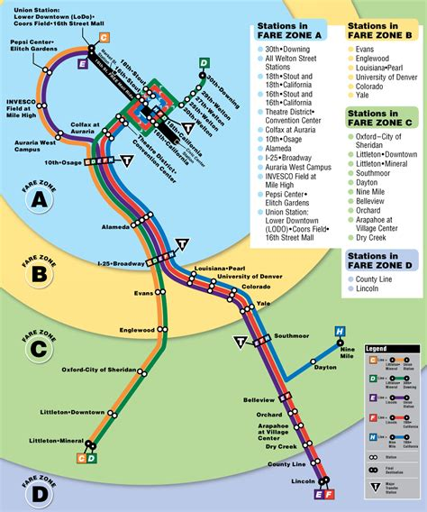 denver light rail expansion map popular 225 list light rail denver map