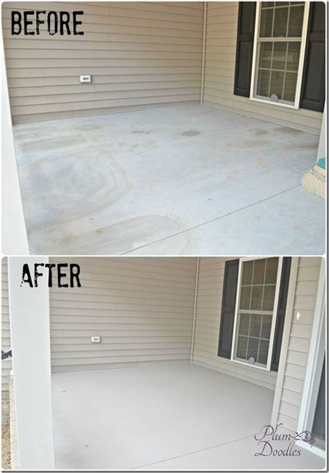 front porch concrete repair amazing diy projects