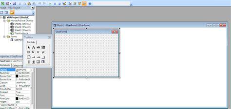 membuat form dengan vba di excel belajar office cara membuat user form dengan vba excel