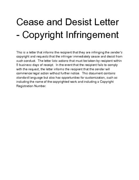 copyright letter ideas best marketing executive cover