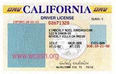 California Id Card Template by Template California Drivers License Template Photoshop