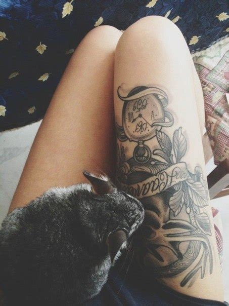 thigh tattoos best in 2016