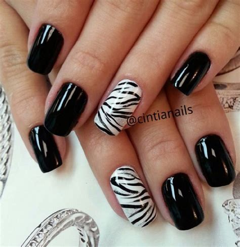 nails designs zebra print 60 best zebra print nail art ideas