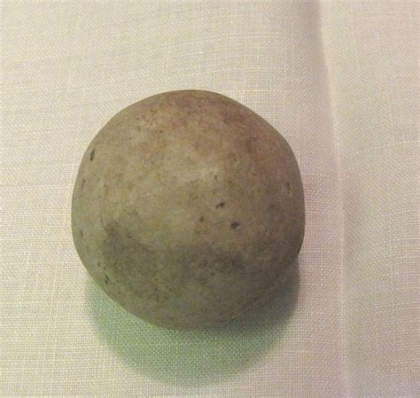 Antique Handmade Marbles - vintage clay marble handmade unglazed 1 1 4 quot sold on