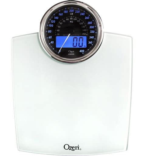 digital or mechanical bathroom scales product review ozeri rev digital bathroom scale with