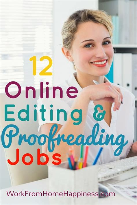 Online Writing Jobs Work From Home - from home editor and good to great on pinterest