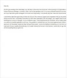 Emotional Resignation Letter Pdf Goodbye Letter To Colleagues After Resignation Docoments Ojazlink