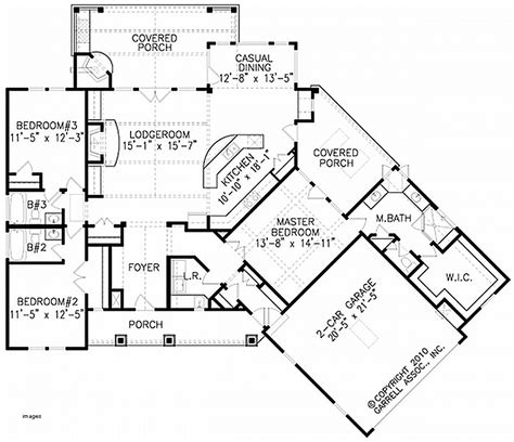 House Plan Fresh 1 5 Story Craftsman House Plans 1 5 1 5 Story House Plans With Walkout Basement