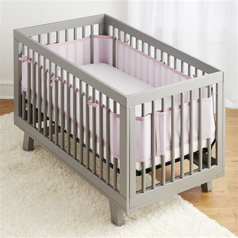 Light Pink Crib Bedding Sets 3pc Classic Crib Bedding Set Light Pink Breathablebaby