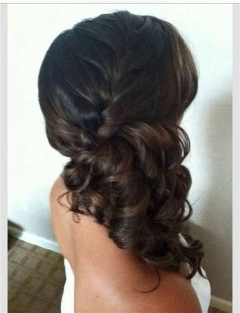 Wedding Hair Pinned To Side by Veil Pictures With Side Pinned Hair Weddingbee