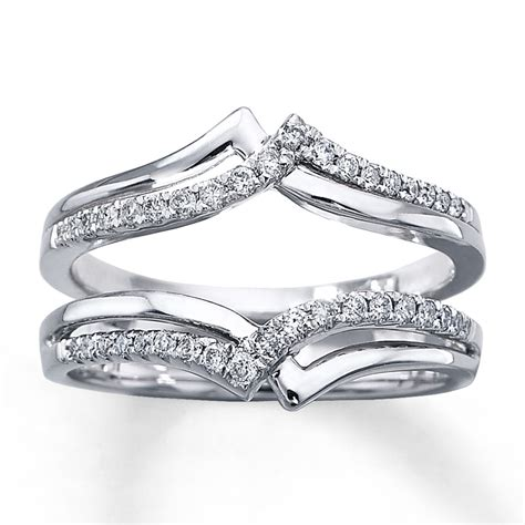 Wedding Rings Enhancers by Wedding Ring Enhancers White Gold Minimalist Navokal