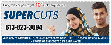 haircut coupons kitchener supercuts coupon
