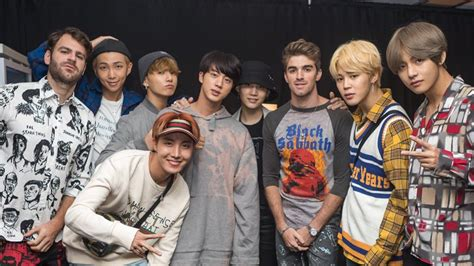 bts chainsmokers bts performs quot closer quot with the chainsmokers after