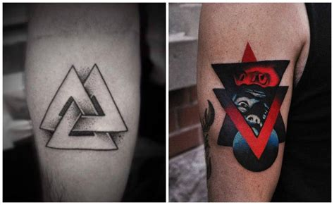 tatuajes de tri 225 ngulos su significado real y los