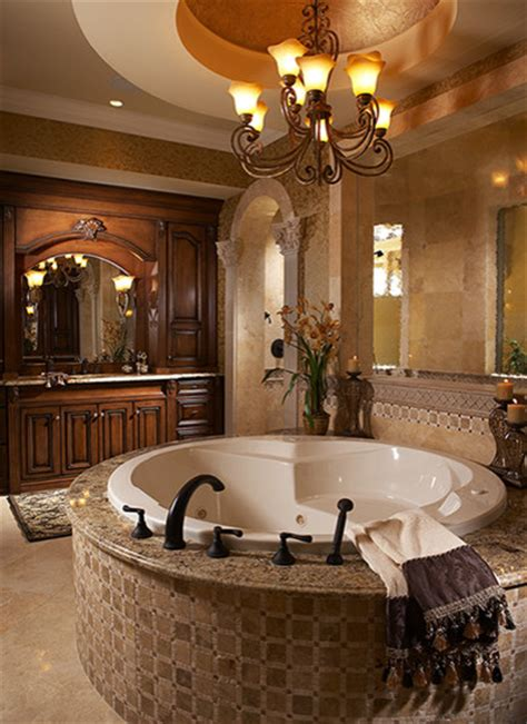 Mediterranean Bathroom Ideas Aqualane Shores Custom Residence Mediterranean Bathroom Other Metro By Don Stevenson