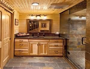 Rustic Bathroom Lighting Ideas » New Home Design
